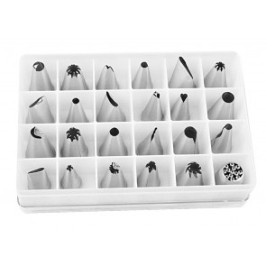 Piping Nozzles Set (24 Pieces)