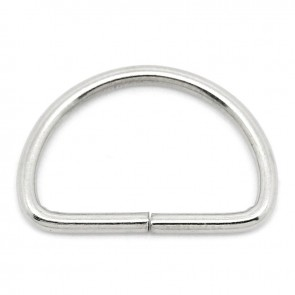 D-Ring Buckles 25mm (5 Pack) Silver