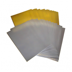 Mirror Card A4 Silver (10 Pack)