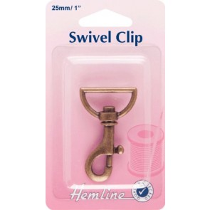 Swivel Clip: Bronze: 35mm
