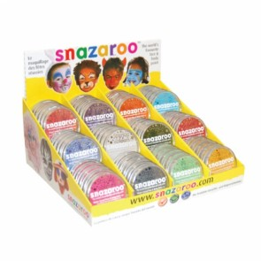 Sparkle Face Paint 18ml Counter Pack - 60 Assorted Colours