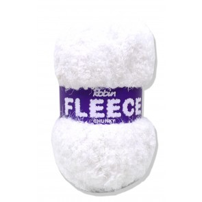 Robin Fleece 100g 4221 White