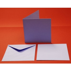 "6x6"" Cards & Envelopes Purple (5 Pack)"