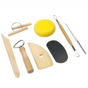 Pottery Tool Kit (8 Pieces)