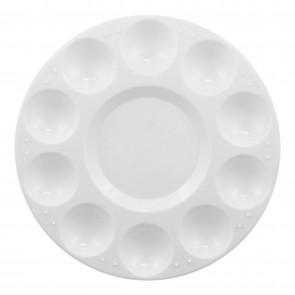 """Plastic Circular Paint Palette 7"""" (17.8cm)"""