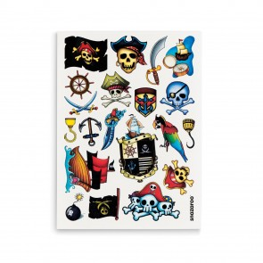 Adventure Temporary Tattoos - Set of 20
