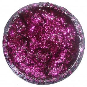 Glitter Gel 12ml Fuchsia Pink
