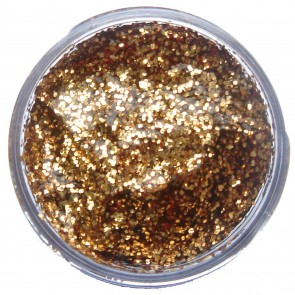 Glitter Gel 12ml Red Gold