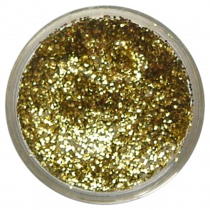 Glitter Gel 12ml Yellow Gold