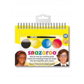Face Paint Booklet Sunglasses