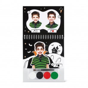 Face Paint Booklet A6 Halloween