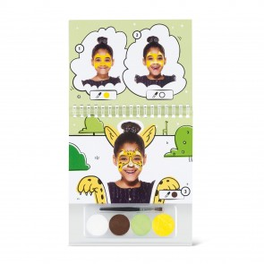 Face Paint Booklet A6 Rainbow