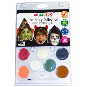 Face Paint Kit Scary