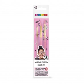 Pink Starter Brushes - Set of 3