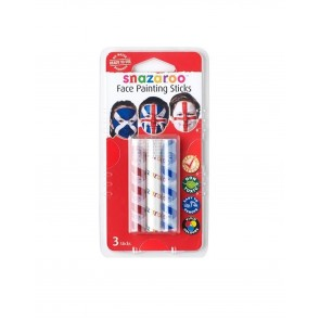 Face Paint Sticks Supporters - Set of 3