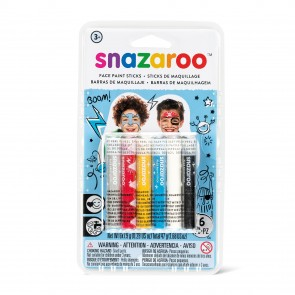 Face Paint Sticks Adventure - Set of 6