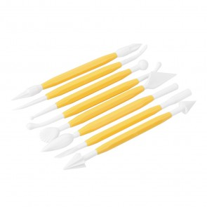 Cake Modelling Tools (8 Pieces)