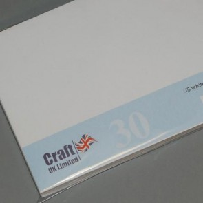 "7x7"" Envelopes White (30 Pack)"