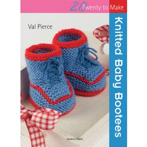 Twenty to Make - Knitted Baby Bootees