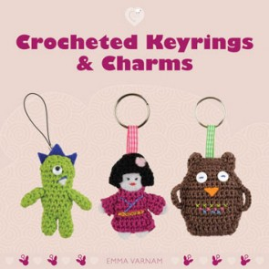 Cozy Series - Crocheted Keyrings and Charms