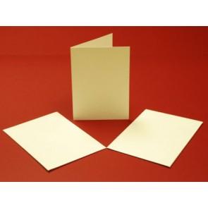 A6 Hammered Cards & Envelopes Tri-Fold Ivory (10 Pack)