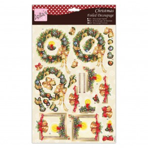 Foiled Decoupage - Festive Foliage