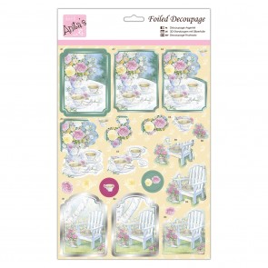 Foiled Decoupage - Afternoon Tea
