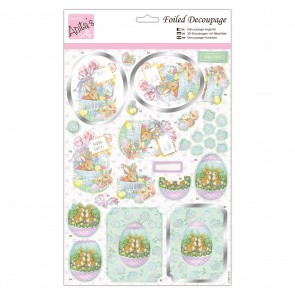 Foiled Decoupage - Easter Treats