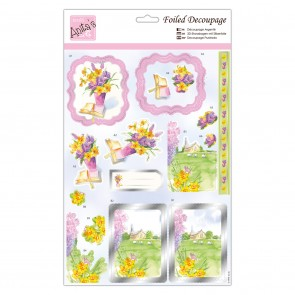 Foiled Decoupage - Springtide