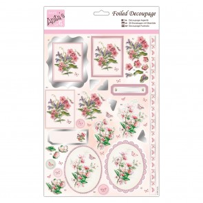 Foiled Decoupage - Spring Blossoms