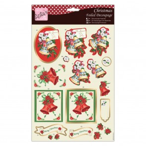 Foiled Decoupage - Seasonal Chimes