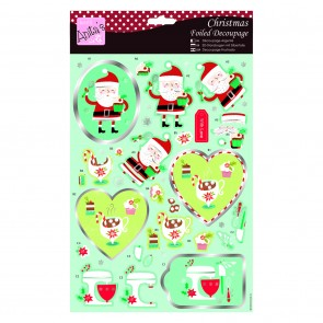 Foiled Decoupage - Christmas Sweet Treats