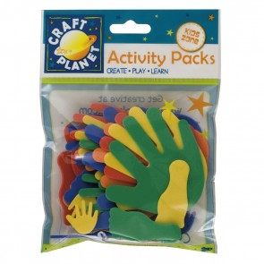 Crafty Foam (30pcs) - Carnival Hands/Feet - Assorted