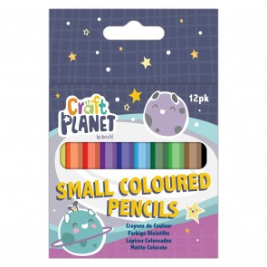 Small Coloured Pencils (12pcs)
