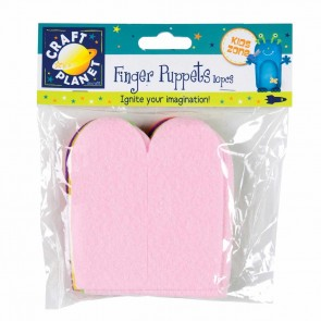 Finger Puppets (10pk) - Assorted Colours