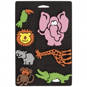 Foam Stamp Set - Go Wild