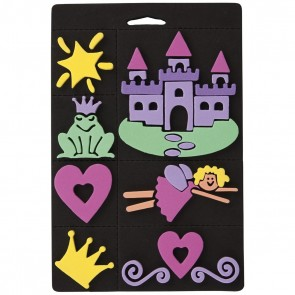 Foam Stamp Set - Princess