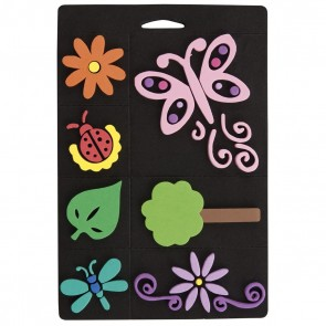 Foam Stamp Set - Flowers & Bugs