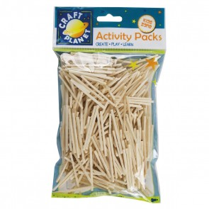 Matchsticks (approx. 500pcs, 50g) - Natural