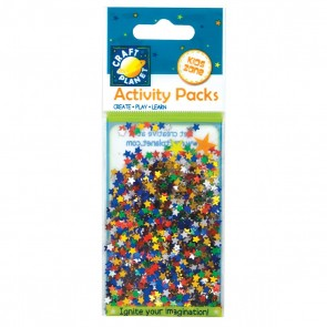 Glitter Stars (5g) - Assorted Colours (6mm)