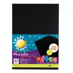 A4 Card (8pk, 250gsm) - Black