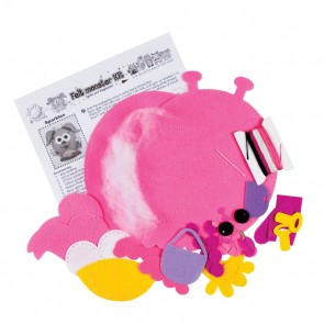 Felt Monster Kit - Sparkles (Height 20-30cm)