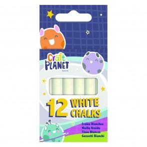 12 White Chalks