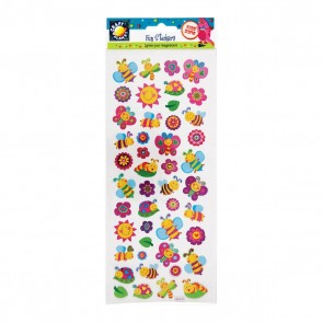 Fun Stickers - Smiley Bugs