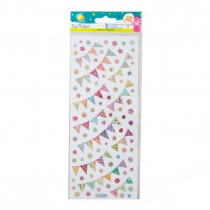 Fun Stickers - Bunting