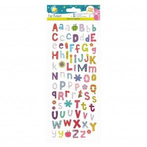 Fun Stickers - Funky Alphabet