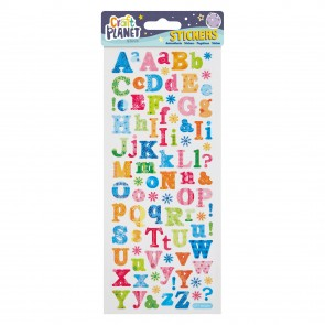 Fun Stickers - Flower Alphabet