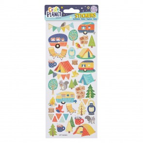 Fun Stickers - Camping
