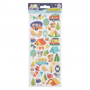 Fun Stickers - Camping