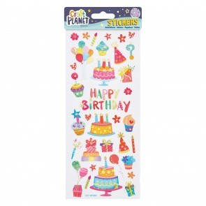 Fun Stickers - Happy Birthday
